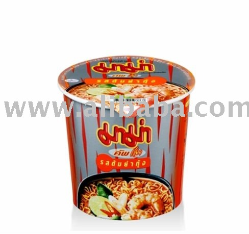 Instant Cup Noodles Shrimp tom Yum Flavor (small)