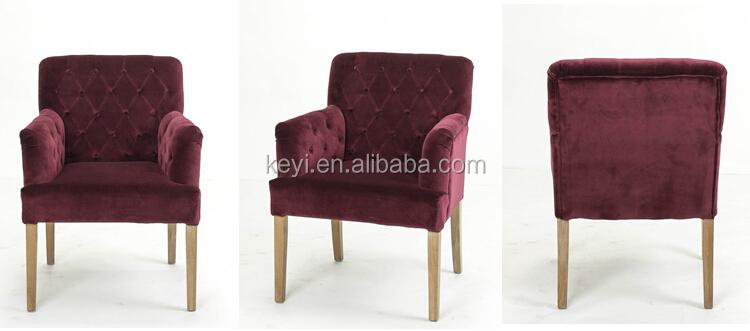 Moderna Rosso Scuro Tessuto Di Flanella Pulsante Design Imbottiti ...