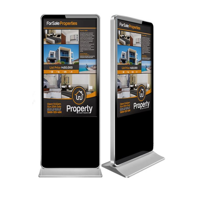 65 inch floor stand advertising player, Lcd Advertising Equipment/Lcd Monitor Stand/Network Lcd Advertising