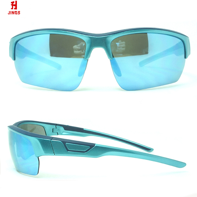 d47de5dc8d China sunglasses factory 2018 top quality half pc frame polarized outdoor  sports sunglasses