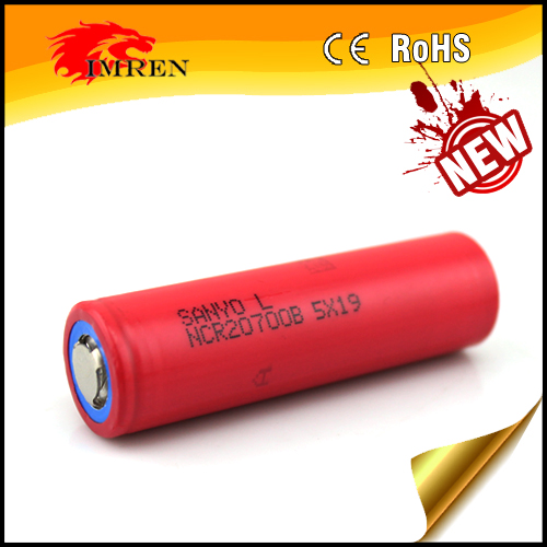 Wholesale 20700 ecig Sanyo NCR20700B 4250mAh 3.7V li-Ion rechargeable battery