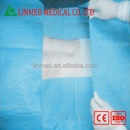 Foctory directly offer c-section incise drape sheet without iodine