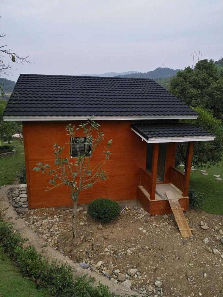 Marketable leisure holiday wholesale prefab wooden house garden house for sale