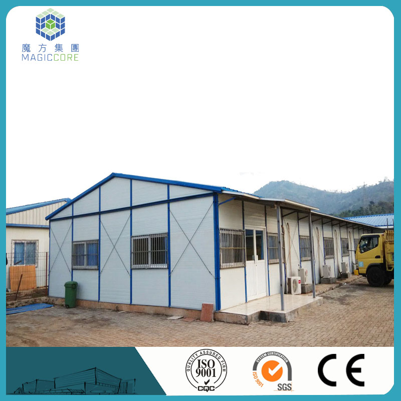 light steel structure kit set houses steel structure prefab home cheap prefab houses dormitory/office/classroom
