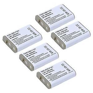 5x Pack of Panasonic KX-TD7896 Battery - Replacement Panasonic Cordless Phone Battery