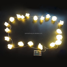 Led Rose flower string light for home decoration,party,office,hotel