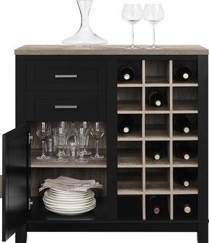 Woonkamer Kast Twee Kleur Hout Thuis Bar Kast - Buy Product on ...