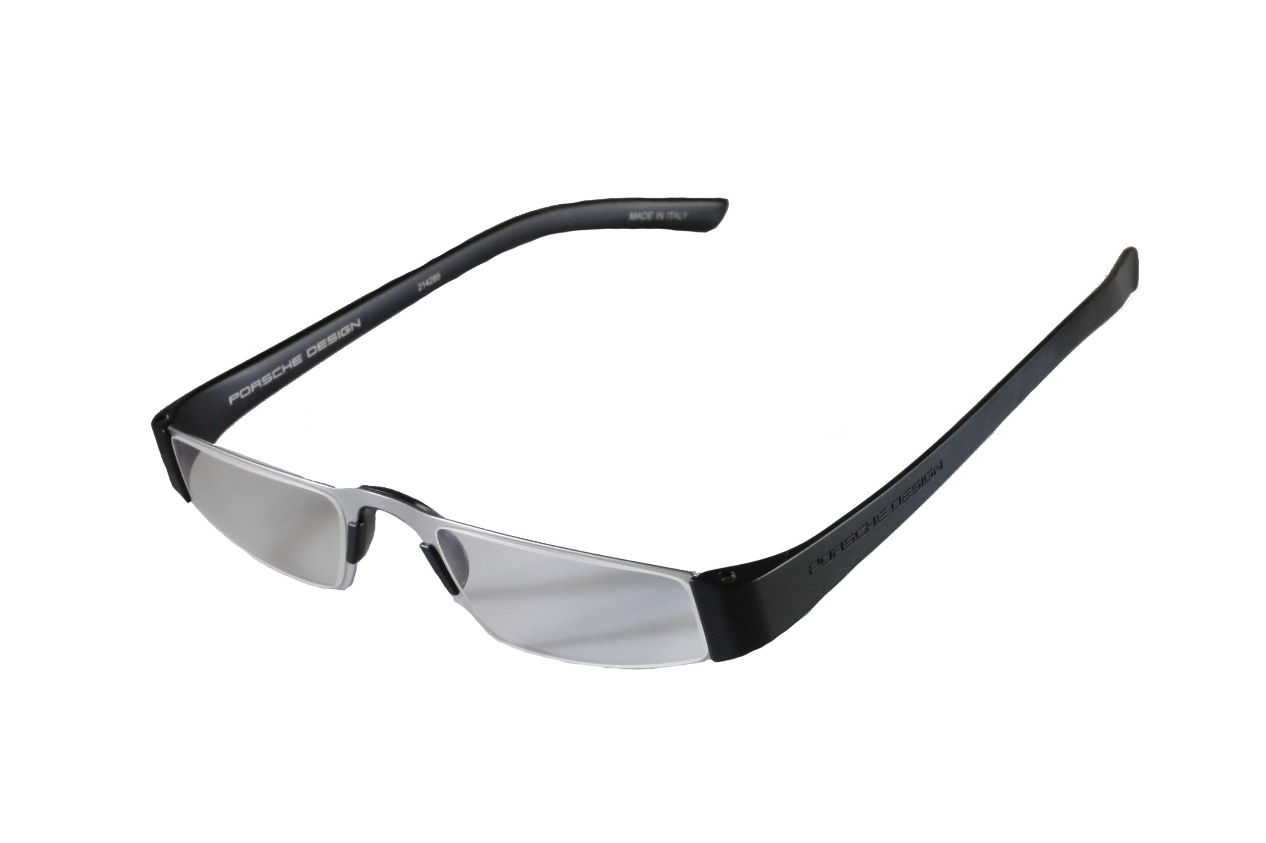 5e90315a070 Get Quotations · Porsche Design +1.00 Lightweight Reading Tool Model P 8801  ~ Titan Black Color