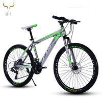 New style sport aluminium 26/27.5 inch mountain bike for women Double disc brake bicycle high quality 27speed mtb bike bycles