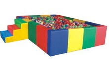 rectangular ball pit