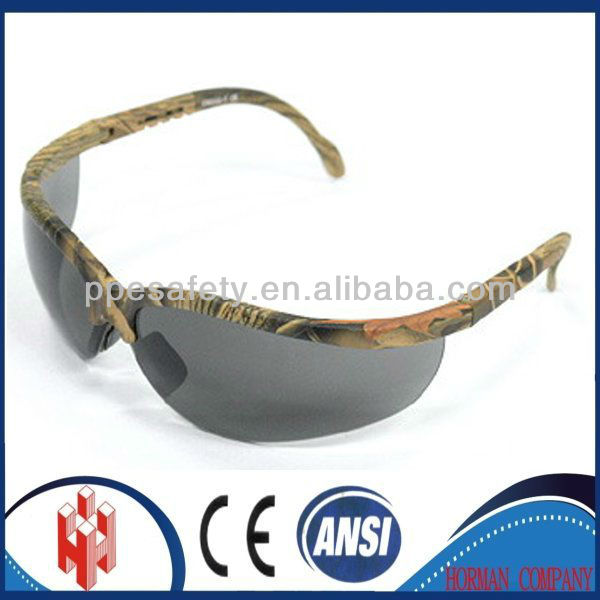 CE ANSI best seller Camouflage Industrial glasses shooting Safety goggles