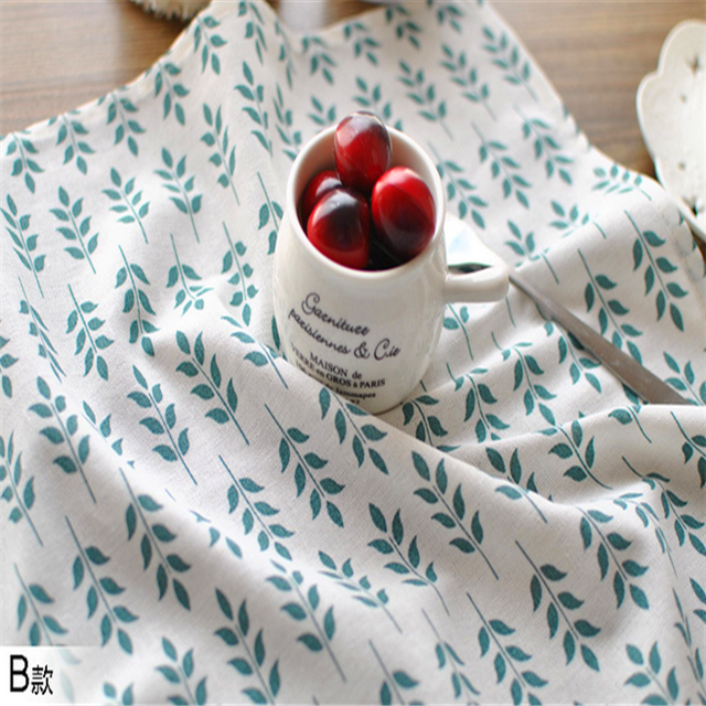 100% Linen/ cotton printed tea towels,China supplier free sample cotton linen dish tea towel for kitchen and home
