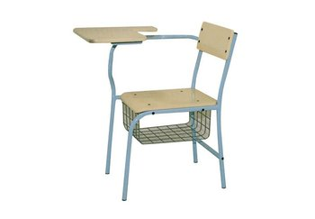2 In 1 Tutorial Desk Student Chair Table For School