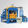 QT4-15 fully automatic new standard size concrete brick production line autoclaved aerated concrete cement block machine