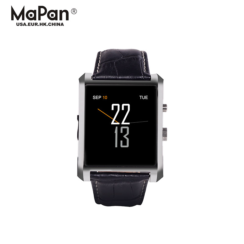 "1.54"" android4.4 smart watch without 3g sim card slot/ sleep monitoring cheap"