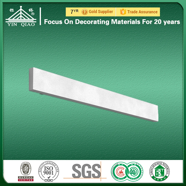 Heat Insulation Light Weight GFRC Moulding For Window And Door Frame