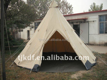 Canvas tent factory 5M canvas tipi tent teepee tent & Canvas tent factory 5M canvas tipi tent teepee tent View tipi ...