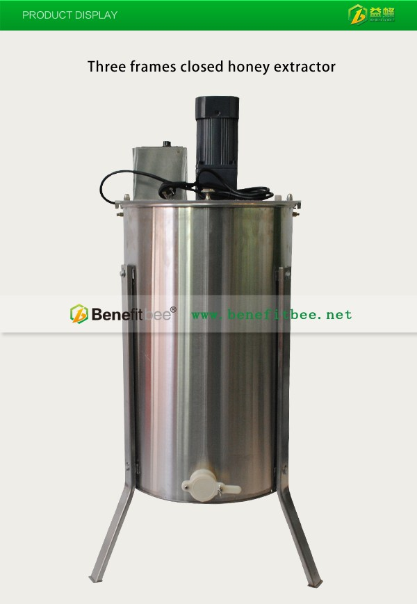 Hot sale manual 3 frame honey harvest