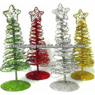 Magnificent 30Cm Small Mini Metal Christmas Table Tree Buy Christmas Tree Easy Diy Christmas Decorations Tissureus