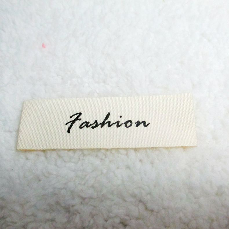 china direct factory brand new t-shirt woven label