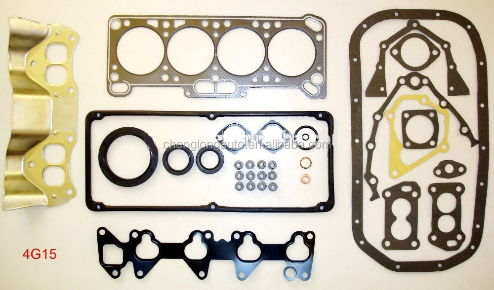 High Quality Full Gasket Set For MITSUBISHI 4G15 engine auto parts OE NO.:MD974390