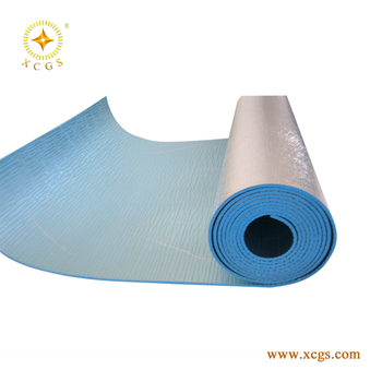 Roof High R Value Xpe Foam Insulation,Coating Silver Colour For Wall  Reflective Xpe/epe Foam Insulation - Buy Xpe Foam Heat Insulation Foil