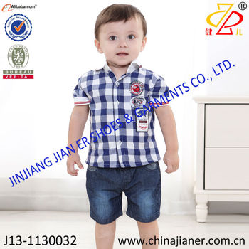 New Design For Baby Summer Clothing 1 3 Years Old Baby Boy Clothing