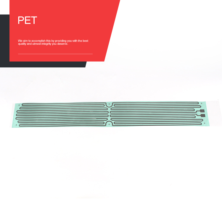 China factory made PET element heater/ thick heating element film/Transparent Heating Film