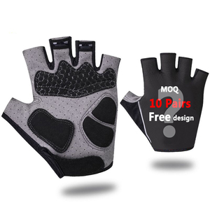 YKYWBIKE half finger anti-slip mittens racing motorcycle sport road bike gloves custom cycling gloves