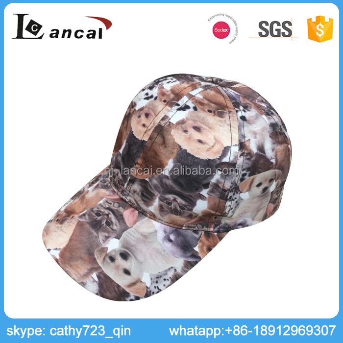 Lancai-Comply ISO Stylish Digital Print Baby Baseball Cap
