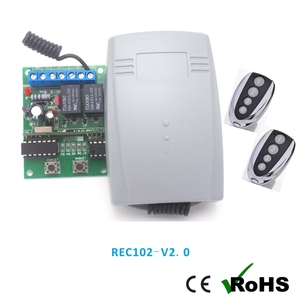 Automated Barrier remote controller 433mhz transmitter and receiver