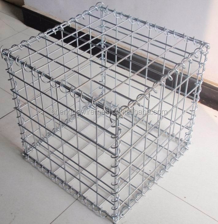 Factory low price gabion box sizes gabion basket stone wall cage round welded wire mesh