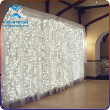 10Mx3M LED Outdoor Christmas String Fairy Wedding Party Curtain Light,led light stage curtain