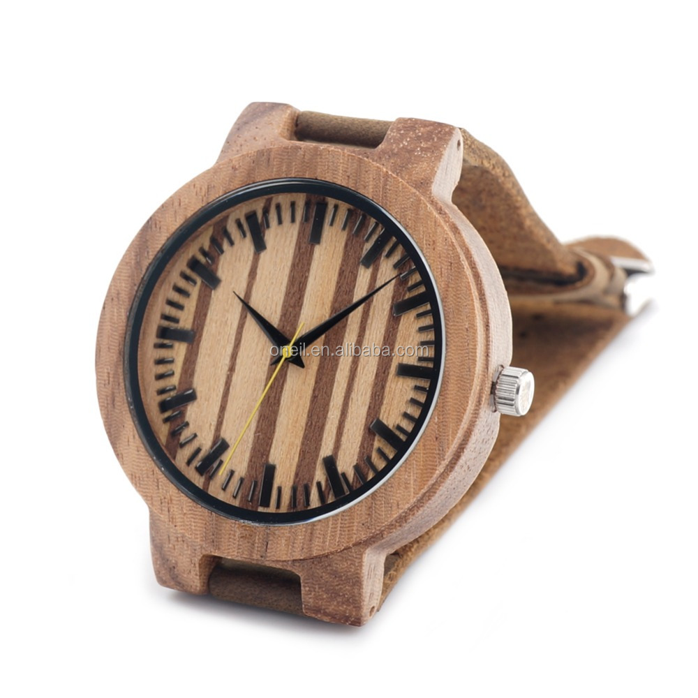 9ce93154863 China fornecer a caixa de relógio de madeira relógio de madeira relógio de  pulso por atacado