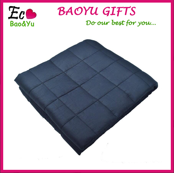 2017 Best Seller Organic Cotton Weighted Sen Blanket Gravity Blanket For Anxiety Autism Sensory Processing