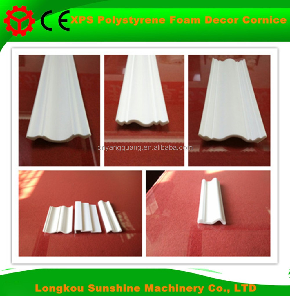 Excellent building material PS decorative roof cornice moulding