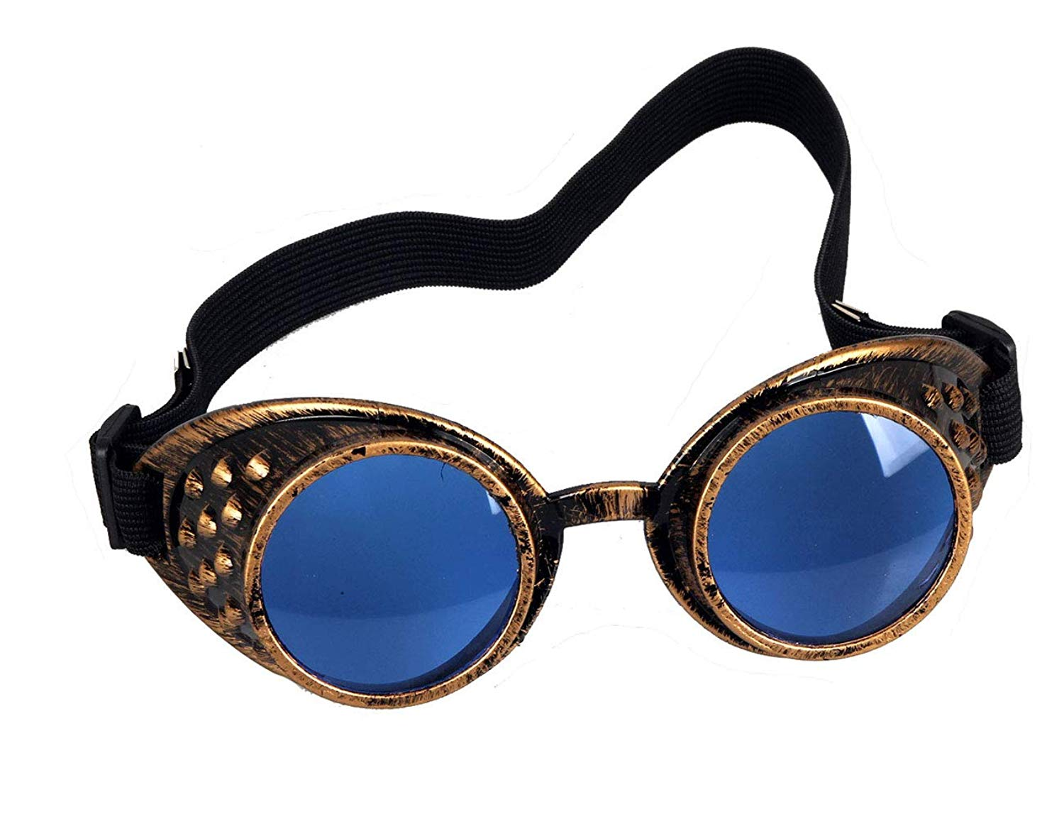 6c7834e91d8e Get Quotations · Steampunk Goggles Cyber Welding Goth Cosplay Vintage  Goggles Rustic Rave Party