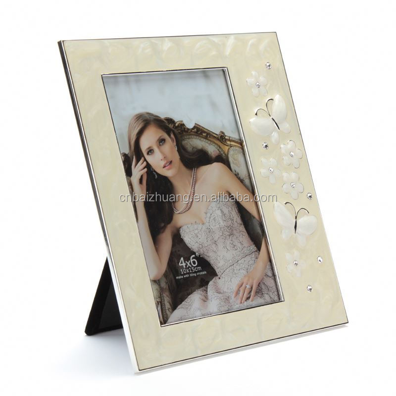 rolling magazine metal 7 inch photo frame