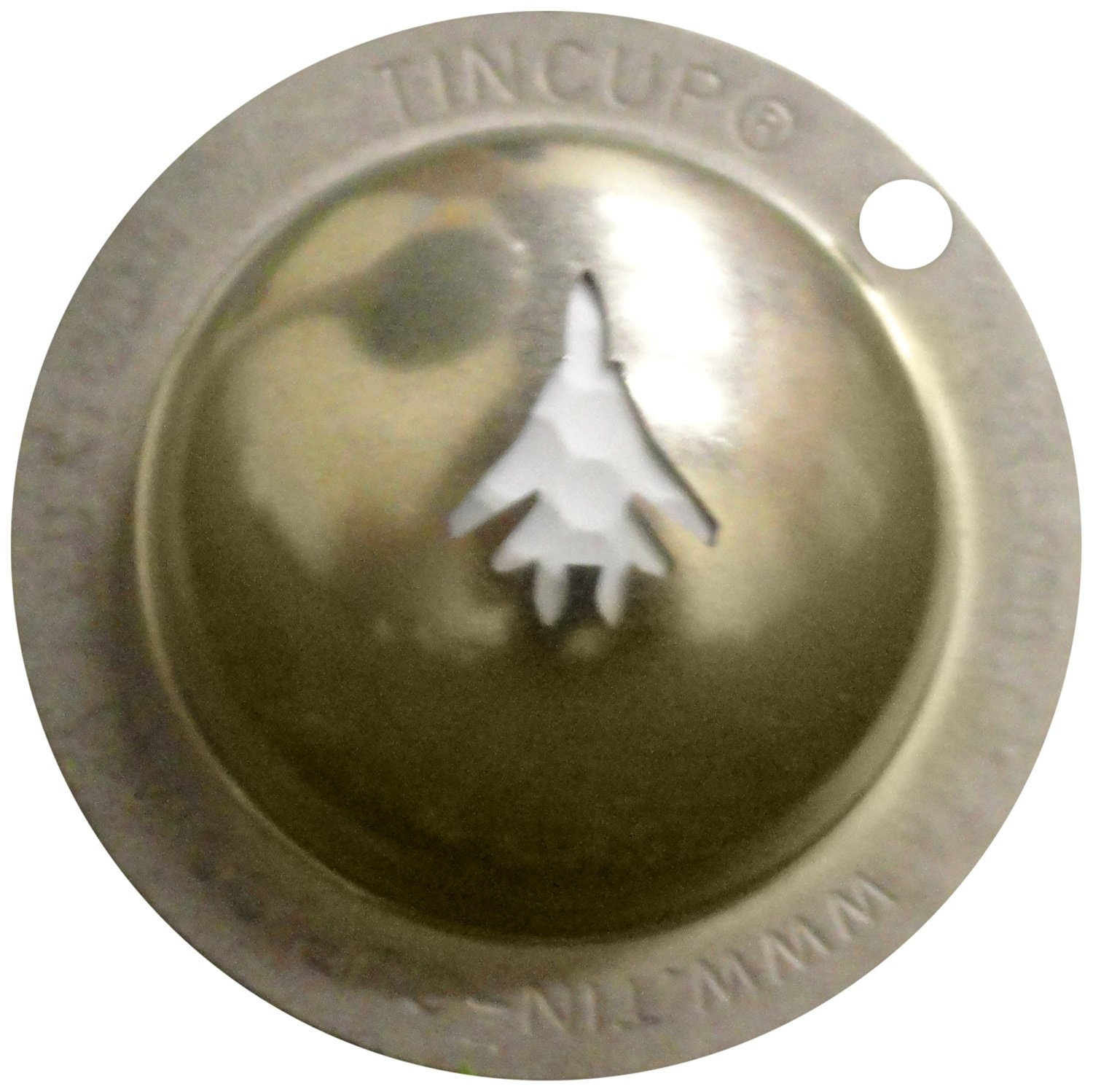 Tin Cup Top Gun Golf Ball Marking Stencil, Steel