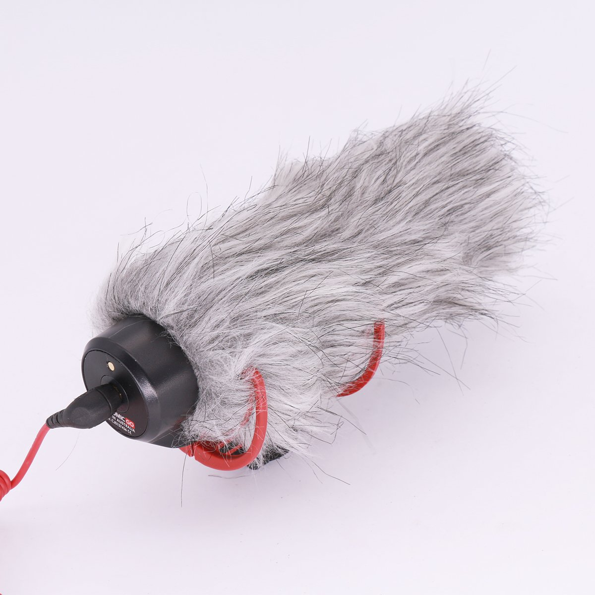 Microphone Windshield Windscreen for RODE VideoMic Go DeadCat Go Artificial Fur Wind Shield Muff