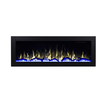 50 Electric Fireplace Heater With Wood Burning Stove Bottom Light
