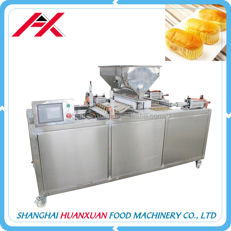 Delicious And Popular Food Machine Manufacturing Custard Filling Cup Cake Machine