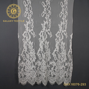 New French Lace Designs Printed Floral Guipure Lace Cotton Nylon Viscose Lace Fabrics For Dress