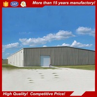 large span lightweight construction materials steel structure for dome storage building