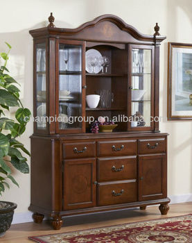 Mx 6008 Solid Wood Plates Cabinet Pantry For Storage Cabinets Drinks Antique
