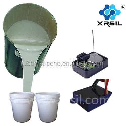 Silicone rubber elastomer for electrical insulation and electronic potting