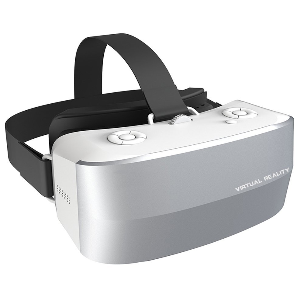 EasyLink 3D VR Glasses All In One 3D VR Headset Virtual Reality Box portable Virtual Reality Goggles 360 Viewing Immersive with Adjustable Lens and Strap
