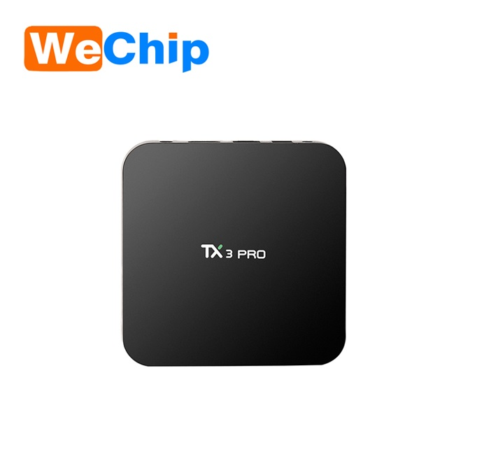 JoinWe 2017 Wholesale google lastest android 6.0 quad core tx3 pro KD tv box