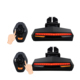 2018 new design intelligent remote control bike laser light safety turn signal light bicycle tail light