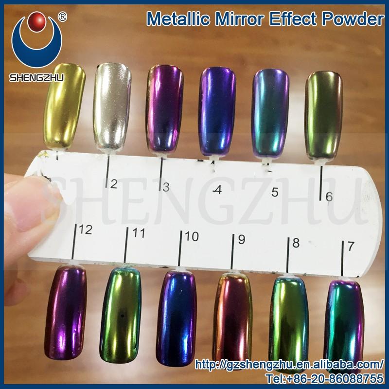 Pigmento de cromo oro efecto espejo en polvo para u as pigmento identificaci n del producto Polvo espejo unas
